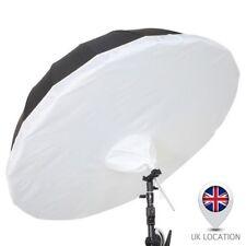 Selens 165cm Parabolic Black Silver Umbrella + Removeable Diffusion Studio Photo