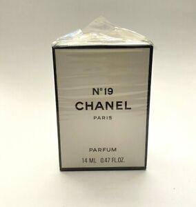 Chanel no 19 PARFUM 14 ml - 0.47 fl. oz. VINTAGE SEALED BOX