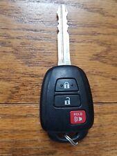 OEM Toyota RAV4 Remote Head Key 3 Buttons GQ4-52T H Chip GOOD!