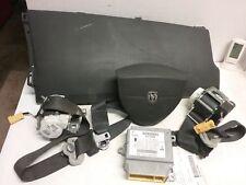 08 09 10 Dodge Caravan airbag set wheel belts module Dash OEM black 56054223AA