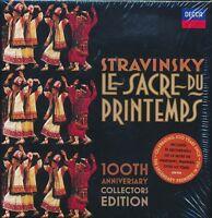 Igor Stravinsky Le Sacre du Printemps box CD NEW 100th Anniversary edition