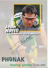Jean Nuttli  Radsport Autogrammkarte original signiert 386979