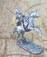 Cuirassier 1812 year Tin Miniature Model Figure Toy soldier Cavalry 54mm