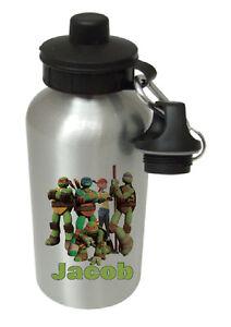 Teenage Mutant Ninja Turtles -Personalised kids drinks/sports water bottle