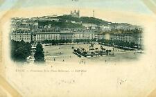 FRANCIA. Place Bellecour. LYON-LIONE. Vg. c/fr. 1901.