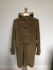 Vintage 1973 Gloverall forrado de pana Duffle Coat-Brown - 40 in (approx. 101.60 cm) pecho