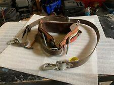 Buckingham Lineman Belt (38), Positioning Strap 3/99 #2951