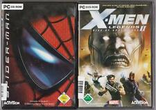 Spider Man The Movie + X-Men Legends 2 Rise of the Apocalypse colección juegos PC