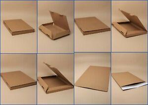 Large Letter Mailing Box / Envelope, Postage, Shop, Seller, Pack 12, Brown, Card