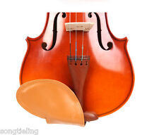 Violin part Nice quality 4/4 violin brown chin rest pad leather skin made