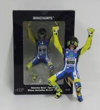 MINICHAMPS VALENTINO ROSSI 1/12 FIGURA YAMAHA MOTOGP WINNER GP AUSTRALIA 2014
