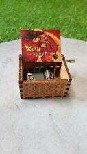 Boîte à musique en bois Wooden Music Box DBZ Dragon Ball Z NEUF / EMBALLE
