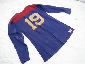 VINTAGE 1950/60s CHAMPION KNITWEAR Co Football-Athletic shirt, ROCHESTER 4, NY