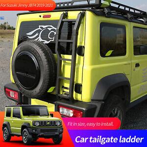 For Suzuki Jimny JB64 JB74W 2019 2021 2020 Rear Door Tailgate Ladder Accessories