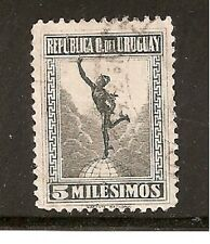 Uruguay Stamps- Scott # 239/A97-5m-Canc/LH-1922-NG