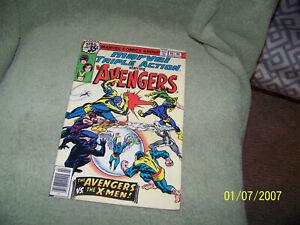 lot of {4} vintage 70's marvel comic books {marvel triple action}