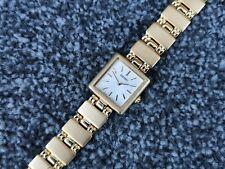 Vintage Seiko Ladies Watch Gold Plated Dainty Face Goldtone Bracelet 1N00-6N10