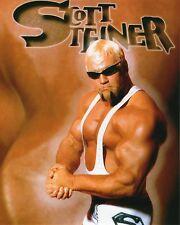 """SCOTT STEINER PHOTO WCW WRESTLING 8x10"""" BIG POPPA PUMP wwe wwf tna"""