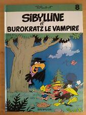 Sibylline par Macherot Burokratz le vampire T:8 Dupuis EO 1982