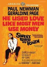 SWEET BIRD OF YOUTH (Paul Newman)  -  DVD - UK Compatible - New & sealed