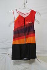 Louis Garneau Men's Tri Course Sleeveless Tri Top Medium Multi Colored