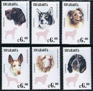 👉 NICARAGUA 2000 DOGS MNH DOMESTIC ANIMALS