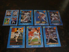 1991 Classic I Baseball-Blue-Lot Of 7-No Dupes-NrMt