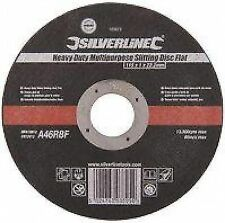 Silverline Multi Purpose Slitting Cutting Disc Flat 115mm Stone Tile 103672