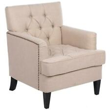 Durable Accent Fabric Arme Chair Single Sofa Seat Leisure Living Room Furniture