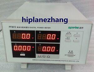 Bench Power Factor & Power Meter Total Harmonic Distortion Analyzer RS232 PF9810