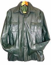 Vintage 56 Lederjacke Leder Jacke leather jacket men Herren 70er Herrenjacke
