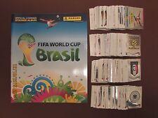 Colección Completa Conjunto Completo/PANINI WORLD CUP 2014 Brasil 640 cromos + álbum