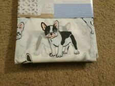 "French Bulldog Shower Curtain Frenchie Clear Black White PEVA 70"" x 72"" *NEW*"
