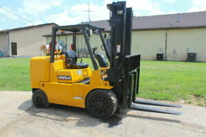 Caterpillar GC70K Forklift 15,000 Lb Capacity LP 4.3L Side Shift Cushion Tire