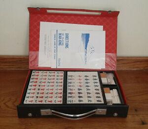 Vintage Mahjong Set, Complete and Unused, Mah Jong Set in Case.