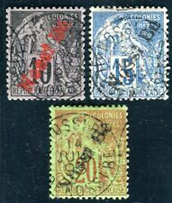 NOSSI BE 1893 Yvert 23-25 gestempelt 150€(D7504