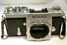 Nikon F camera body only SN 6726836 - tested works good