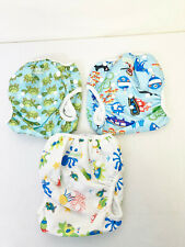 3 Wegreeco Swim Diapers - Diving, Ocean, Turtle - Brand New