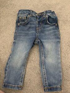 River Island Mini Baby Boy Denim Sid Skinny Jeans 6-9 Months