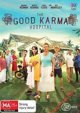 GOOD KARMA HOSPITAL SEASON 1 DVD, NEW & SEALED, 2017 RELEASE, R4, FREE POST.