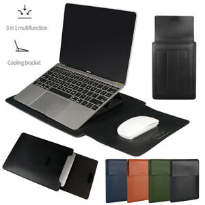 """Laptop Bag Sleeve Stand Cover For Macbook Air Pro 13.3"""" 14"""" 15.4"""" Notebook Case"""
