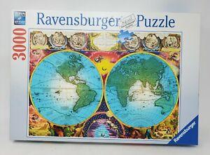 Ravensburger 3000Piece Puzzle Antique Map Old World
