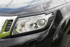 Per Nissan Navara NP300 Nero Testa Luce Bordo Testa Lampada Cover UK Azione
