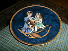 1987 Hamilton Collection Plate Anna and Elize Timeless Friends By: Karen Noles