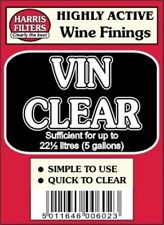 Harris Filters Highly Active Wine Finings (Vin Clear) for upto 5 gallons