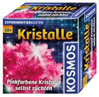 KOSMOS Experimentierkasten Pinkfarbene Kristalle selbst züchten PINK Schmuckdose