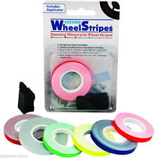 Oxford Wheel & Motorcycle Reflective Stripes 7mm + Applicator White BC30678  T