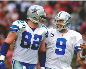 TONY ROMO & JASON WITTEN 8X10 PHOTO DALLAS COWBOYS PICTURE NFL