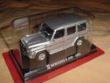 MERCEDES BENZ G 500 1993 GRIS 1/43 IXO pour auto plus