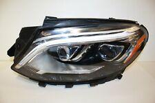 16 17 18 MERCEDES W166 GLE GLE300 GLE350 GLE550 LED HEADLIGHT LEFT DRIVER OEM
